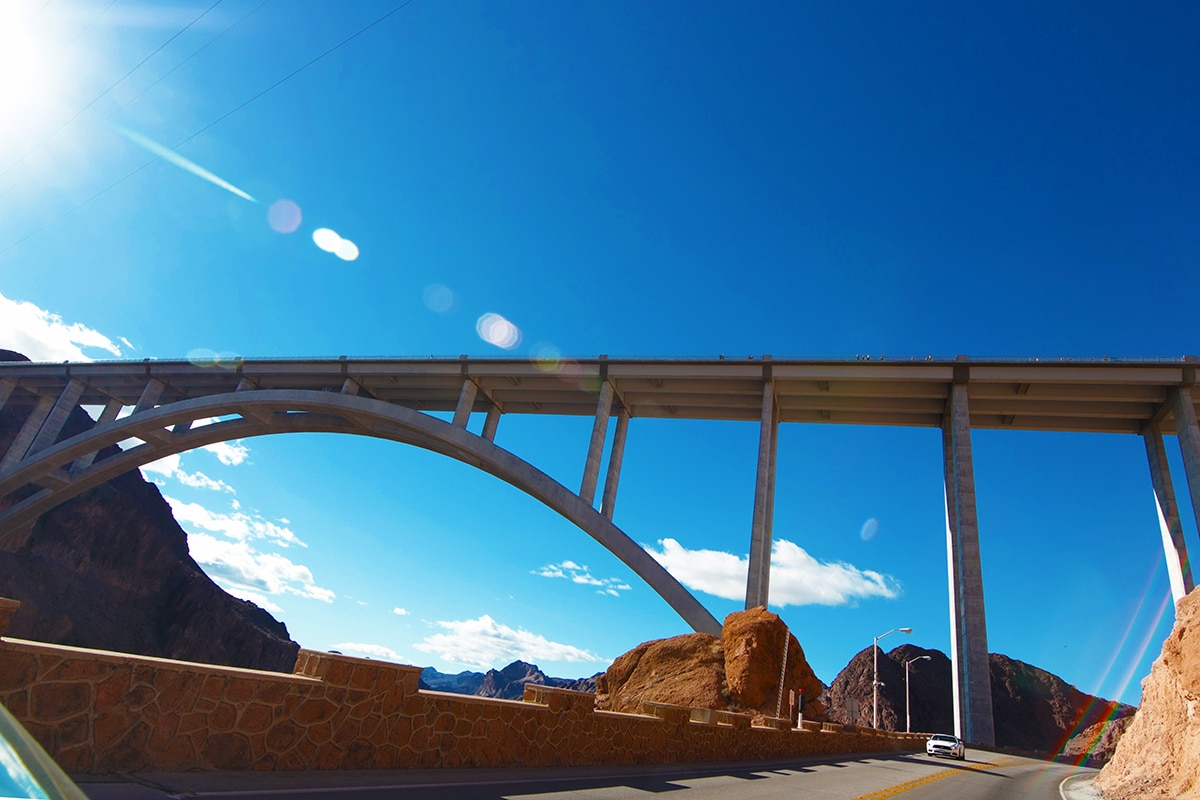 A new 900-foot bridge adds to the allure of the magnificent Hoover Dam.