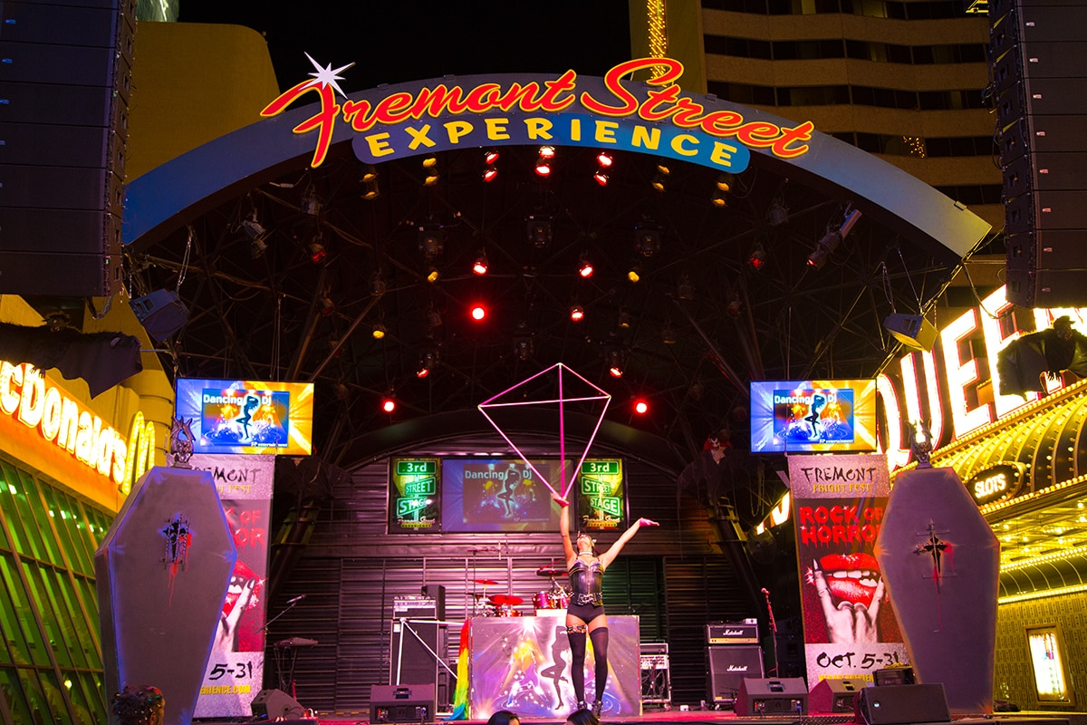 Downtown Las Vegas is home to the Fremont Street Experience.
