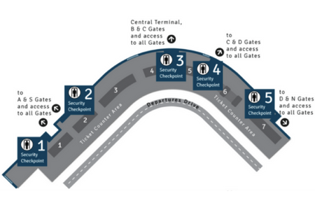 Sea-Tac Airport Terminal Map