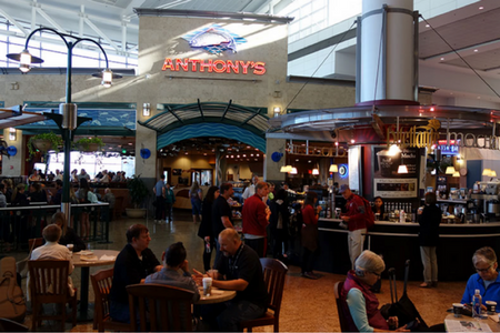 Anthony's Restaurant and Fish Bar at Sea-Tac Airport.