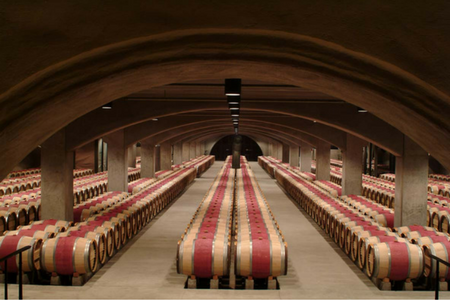 First Year Barrels at Robert Mondavi Winery in Oakville, CA.