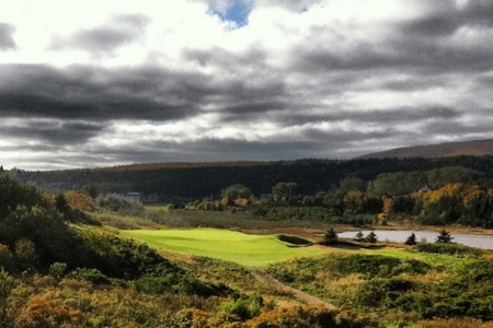 Cabot Links – 5th Hole, Inverness, Nova Scotia