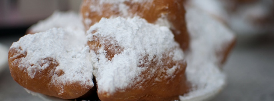 Beignets from New Orleans